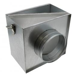 Filtration de l'air - filtre à pollen avec 2 sorties 150mm