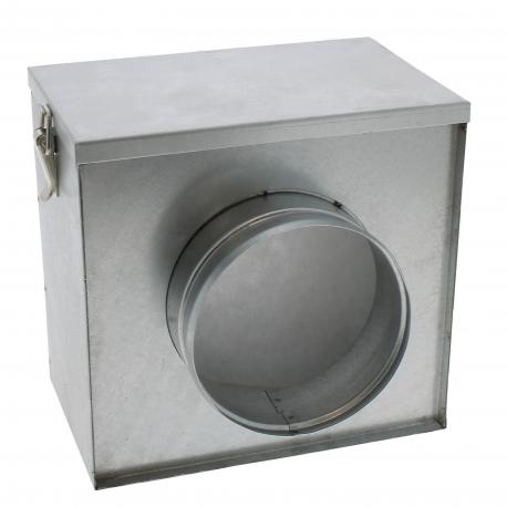 Filtre à air pour conduite de gaine de diamètre 200mm