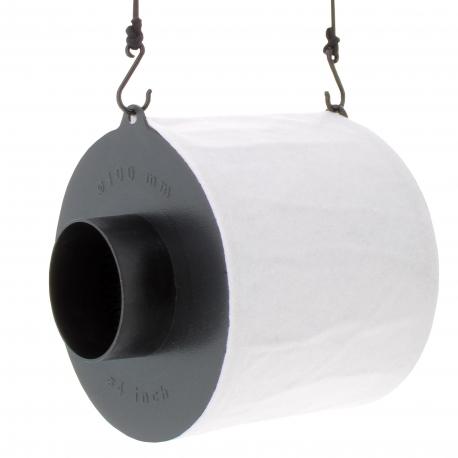 Filtre au charbon actif diamètre 100mm