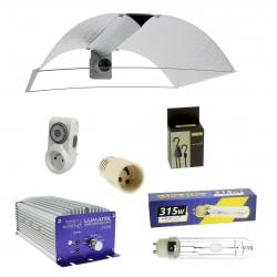 Kit lampe CMH 315W Lumatek - réflecteur + ampoule + ballast