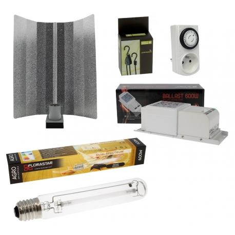 Kit HPS 600W spectre agro Florastar