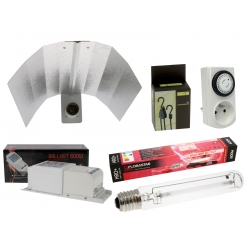 Kit éclairage 600W - lampe HRO 2050K floraison