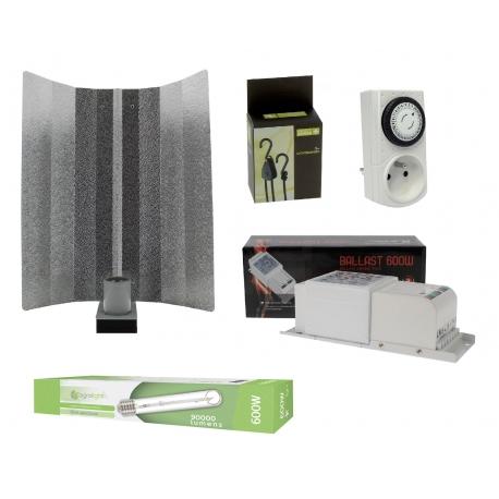 Kit HPS 600W - lampe double spectre Agrolight