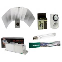Kit lampe HPS Sylvania Grolux 250W complet