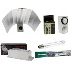 Kit HPS 600W Grolux - lampe double spectre Sylvania