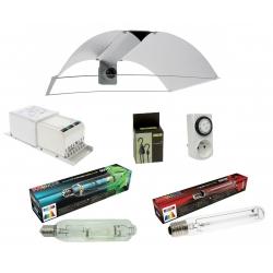 Kit 2 ampoules MH + HPS 600W Sunmaster