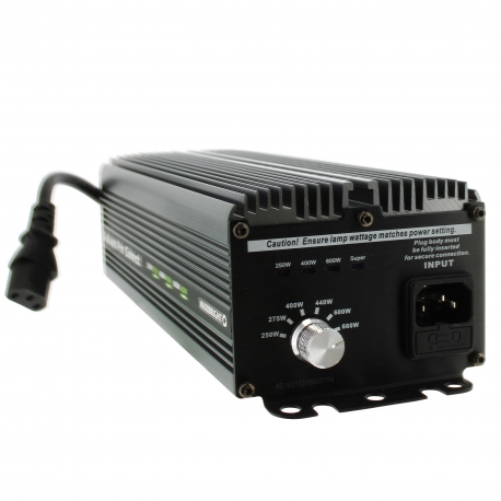 Ballast électro Pro-Select Digilight 600W