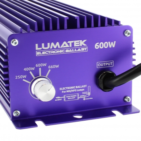 Ballast électronique Lumatek 600W avec Switch