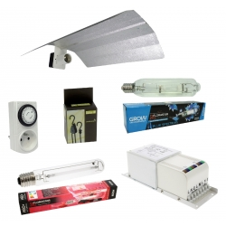 Kit double lampes 600W MH + HPS Florastar