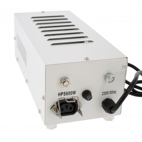 Transformateur Pro Gear pour lampe horticole 600W