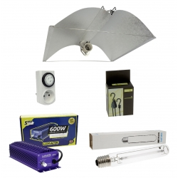 Kit lampe électro 600W Greenpower / Lumatek