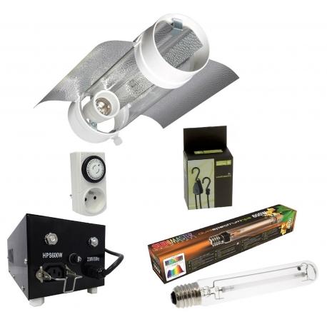 Kit lampe 600W Prima Klima + Sunmaster - Agro