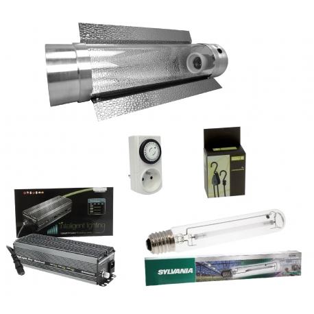 Kit HPS cooltube 600W Grolux et ballast électronique Digilight