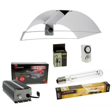 Kit HPS 600W avec réflecteur ajustable Pearl Pro