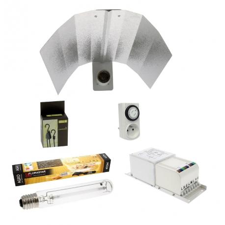 Kit lampe HPS 400W Florastar spectre agro 2050K