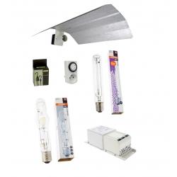 Kit double lampes 400W MH + HPS Osram