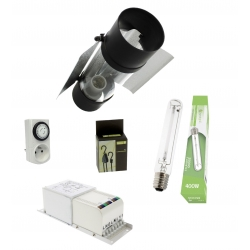 Kit lampe 400W cooltube Garden Highpro
