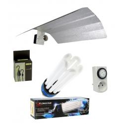 Kit ampoule CFL 125W croissance Florastar