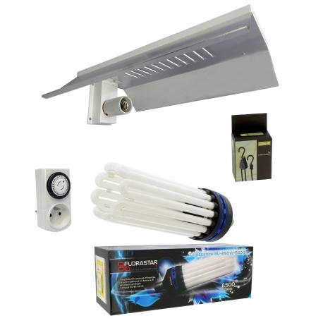 Kit lampe éco croissance - CFL 250W Florastar