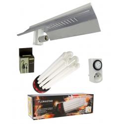 Kit CFL 200W avec spectre floraison 2100K