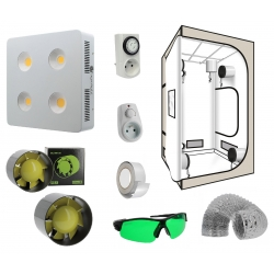 Pack box Led 800W Agrolight + tente G-Pro White Edition 100