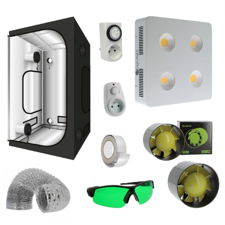 Pack tente G-Max 100 Greencube + panneau led Agrolight 800W