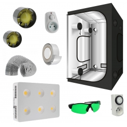 Pack tente G-Max 150 Greencube + panneau led Agrolight 1200W