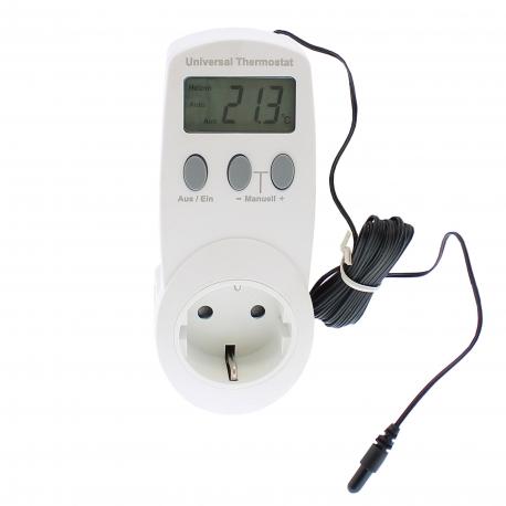 Thermostat universel avec sonde de température