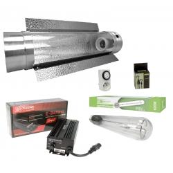 Kit lampe 600W électronique Florastar et réflecteur cooltube