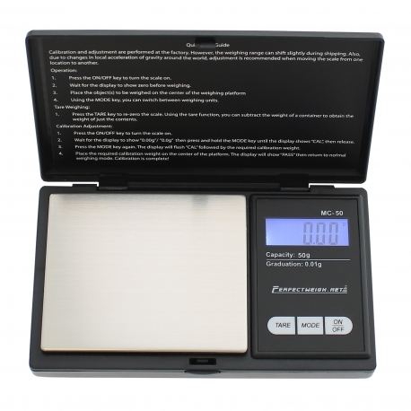 Balance de poche MC Series 50 gr max