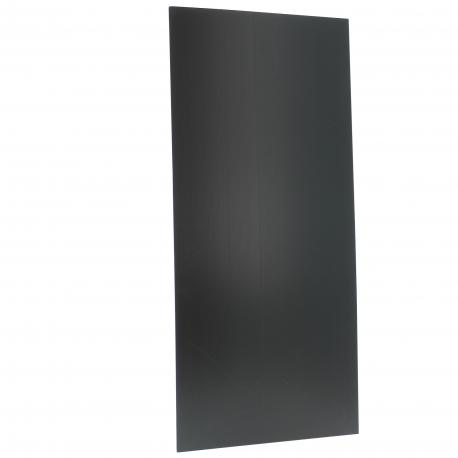 Plaque PVC noire Nutriculture 165x95cm