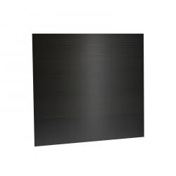 Plaque PVC noire pour système NFT Gro-Tank 75
