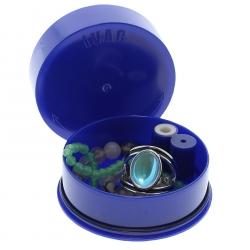Boite Tightvac ronde 0.06 litre - modèle iVac bleue