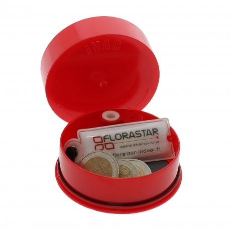 iVAC rouge 0.06 litre - boite de stockage hermétique