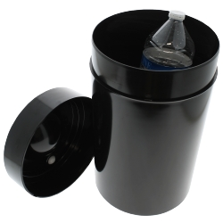 Boite de conservation 10 litres noire Tightvac