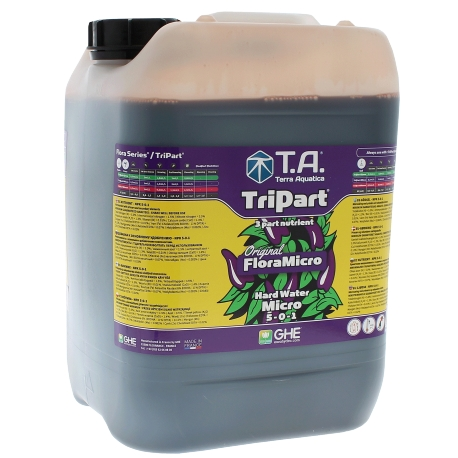 Engrais eau dure: Tripart Micro 10 litres