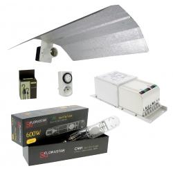 Kit lampe CMH 600W Florastar avec ballast magnétique
