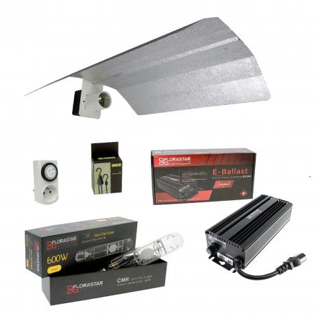 Kit ampoule CMH 600W avec ballast électronique Florastar