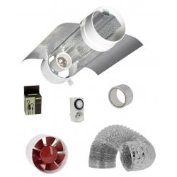 Kit cooltube 150mm Prima Klima + extracteur 305m3/h