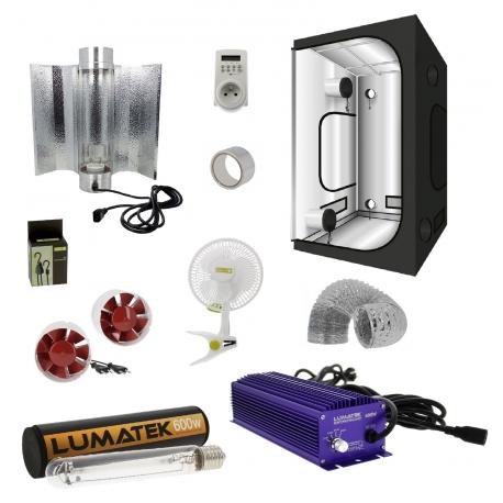 Pack tente 600W électronique LUMATEK et cooltube