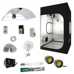 Pack tente Dark Room 150 + lampe HPS 600W Grolux