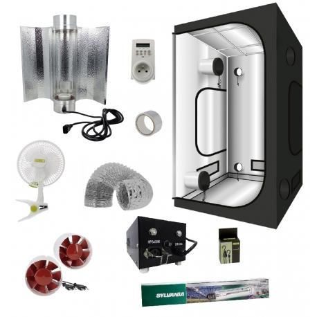 Pack tente cooltube et HPS Grolux 400W - G-Max 100x100x200cm