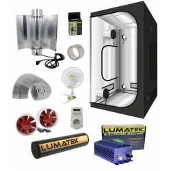 Pack box LUMATEK 400W et cooltube - G-Max 100x100x200cm