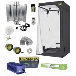 Pack tente Probox 120x120x200cm Garden Highpro + HPS 400W Agrolight