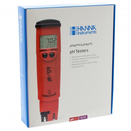 Testeur pH et température Hanna