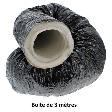 Gaine phonique Pro-Ouate Ø 125mm en boite de 3 mètres