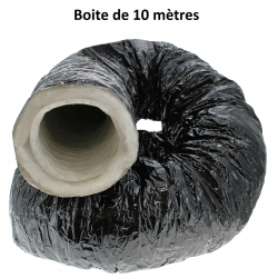 Gaine de ventilation insonorisée en ouate diamètre 254mm