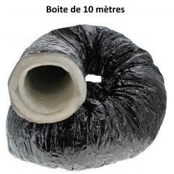 Gaine de ventilation Pro-Ouate Ø 102mm - boite de 10 mètres