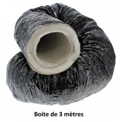 Gaine de ventilation Pro-Ouate Ø 102mm - boite de 3 mètres