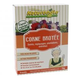 Corne broyée Naturendie paquet de 1 kilo